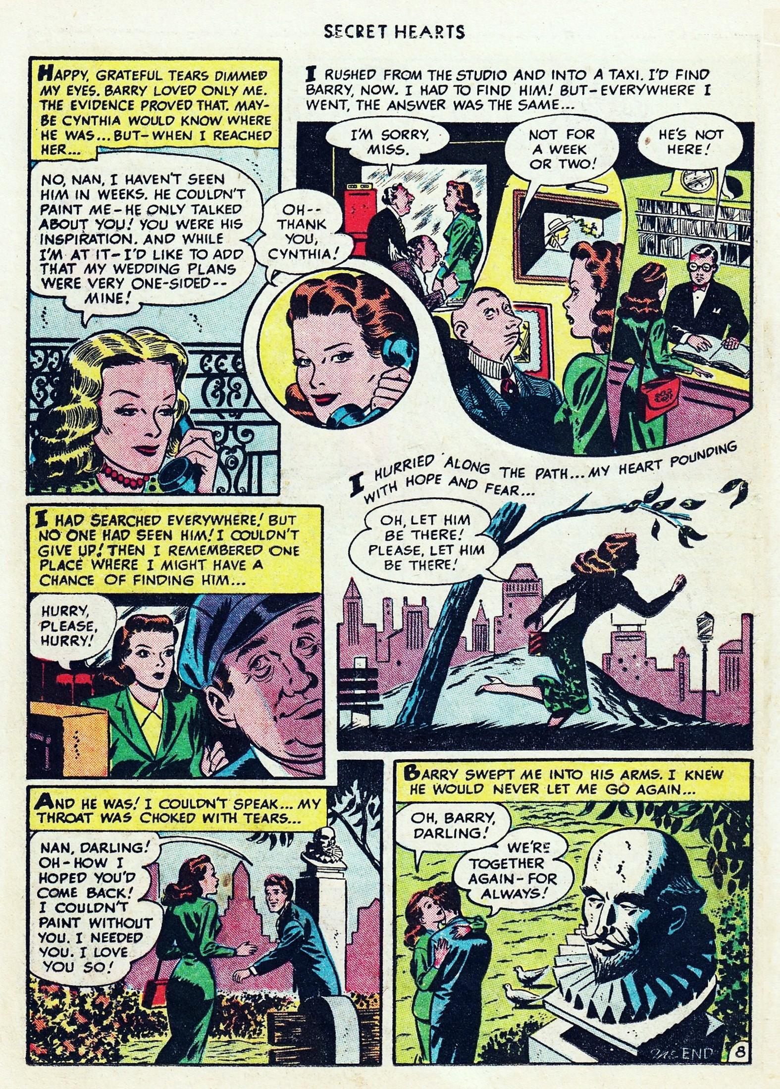 Read online Secret Hearts comic -  Issue #1 - 20