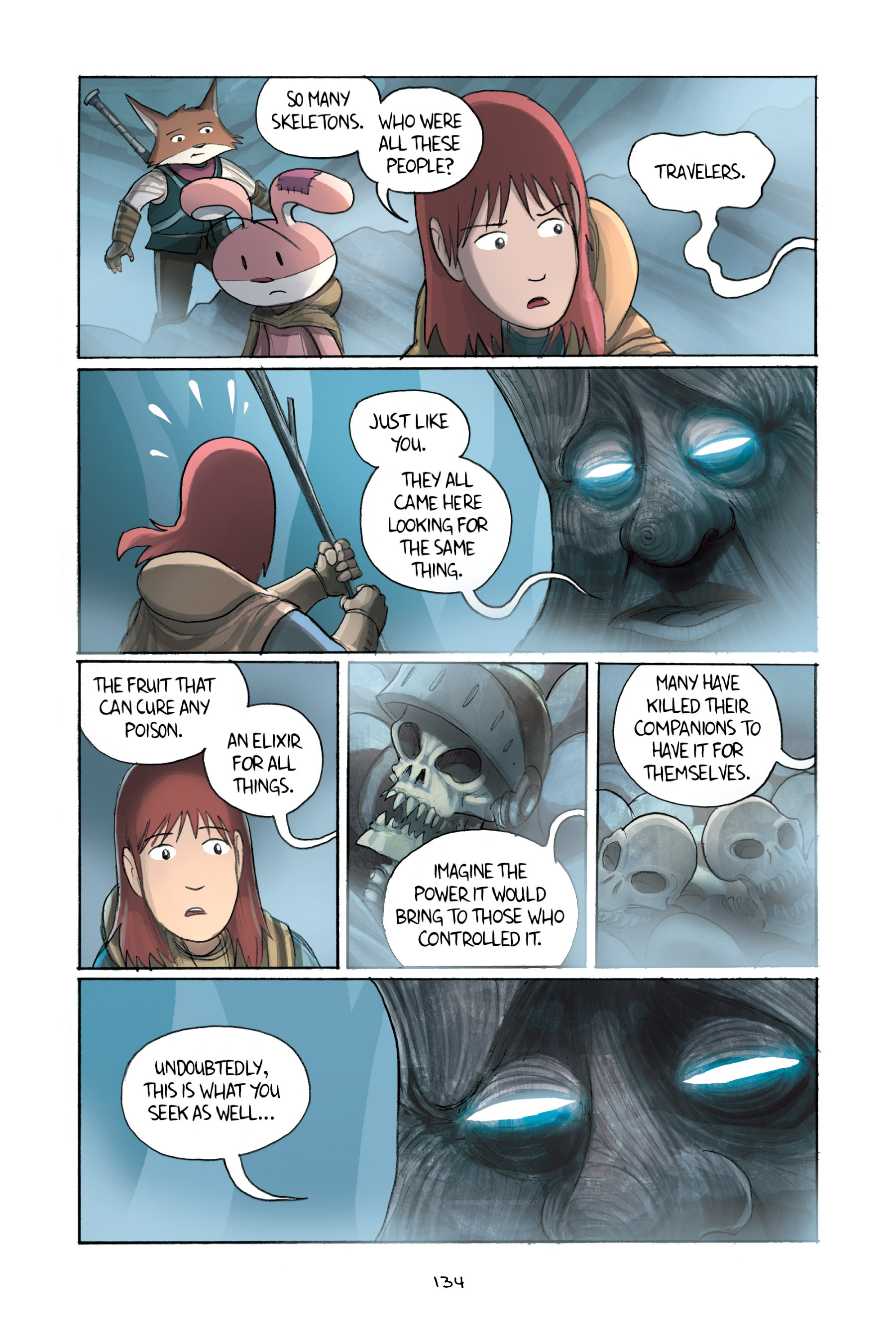 Read online Amulet comic -  Issue #2 - 133