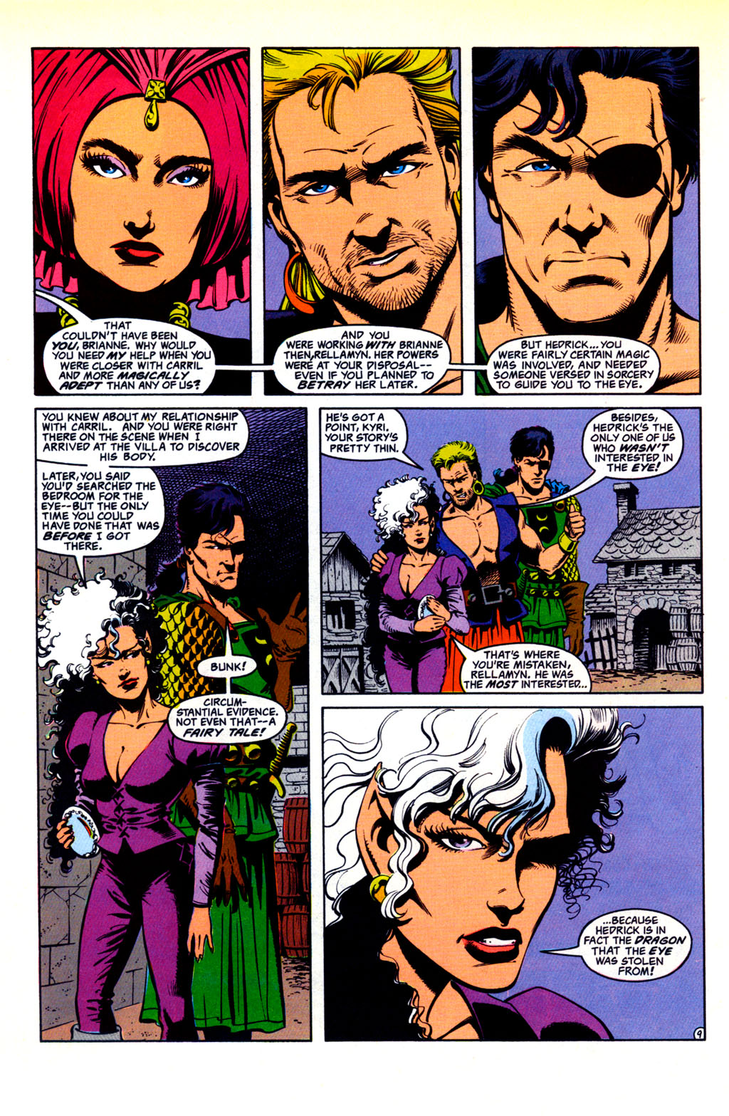 Read online Advanced Dungeons & Dragons comic -  Issue #30 - 9
