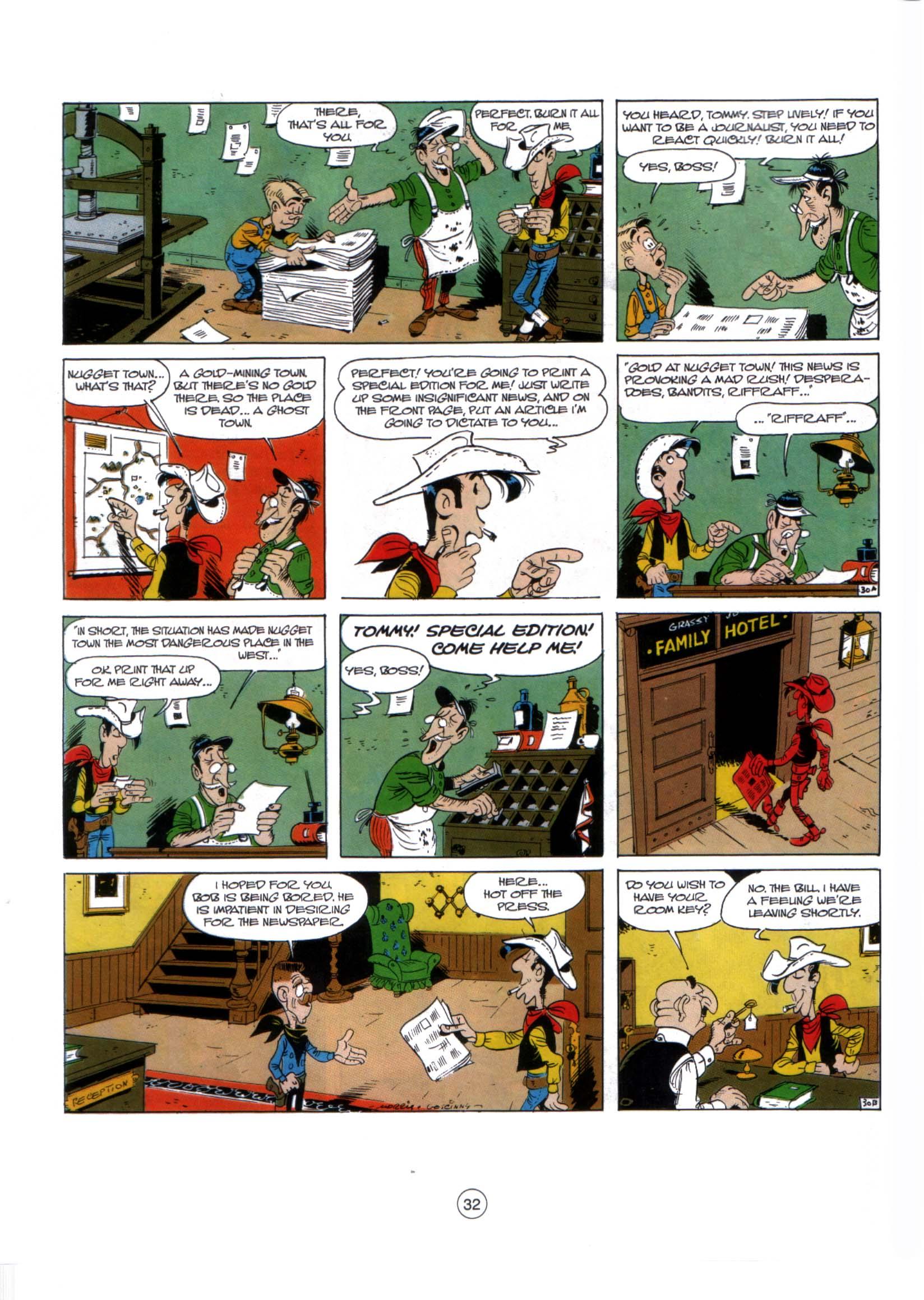 A Lucky Luke Adventure 29 Page 30