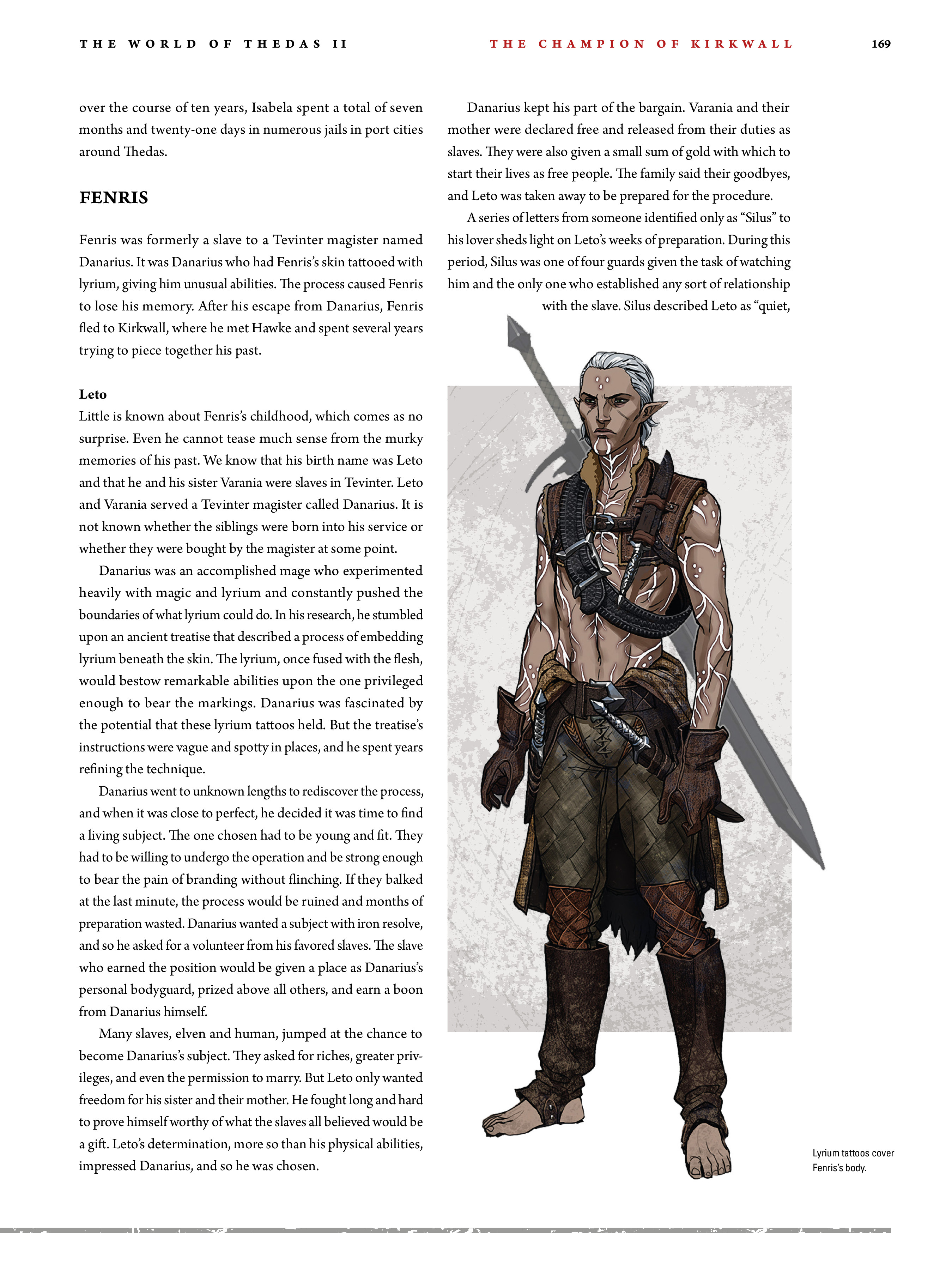 Read online Dragon Age: The World of Thedas comic -  Issue # TPB 2 - 164