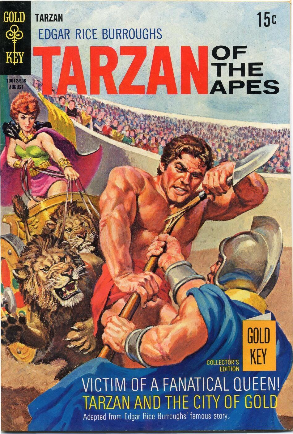 Tarzan (1962) issue 186 - Page 1