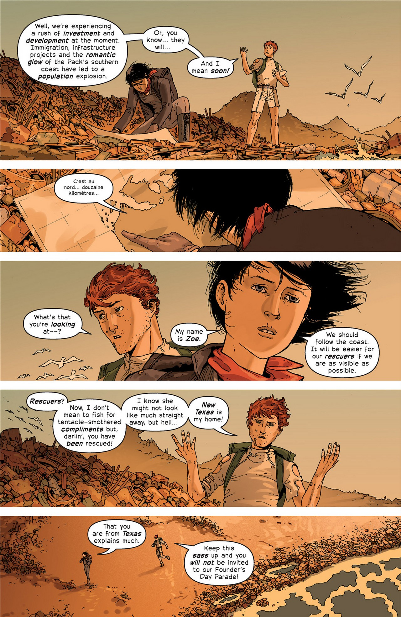Read online Great Pacific comic -  Issue #4 - 11