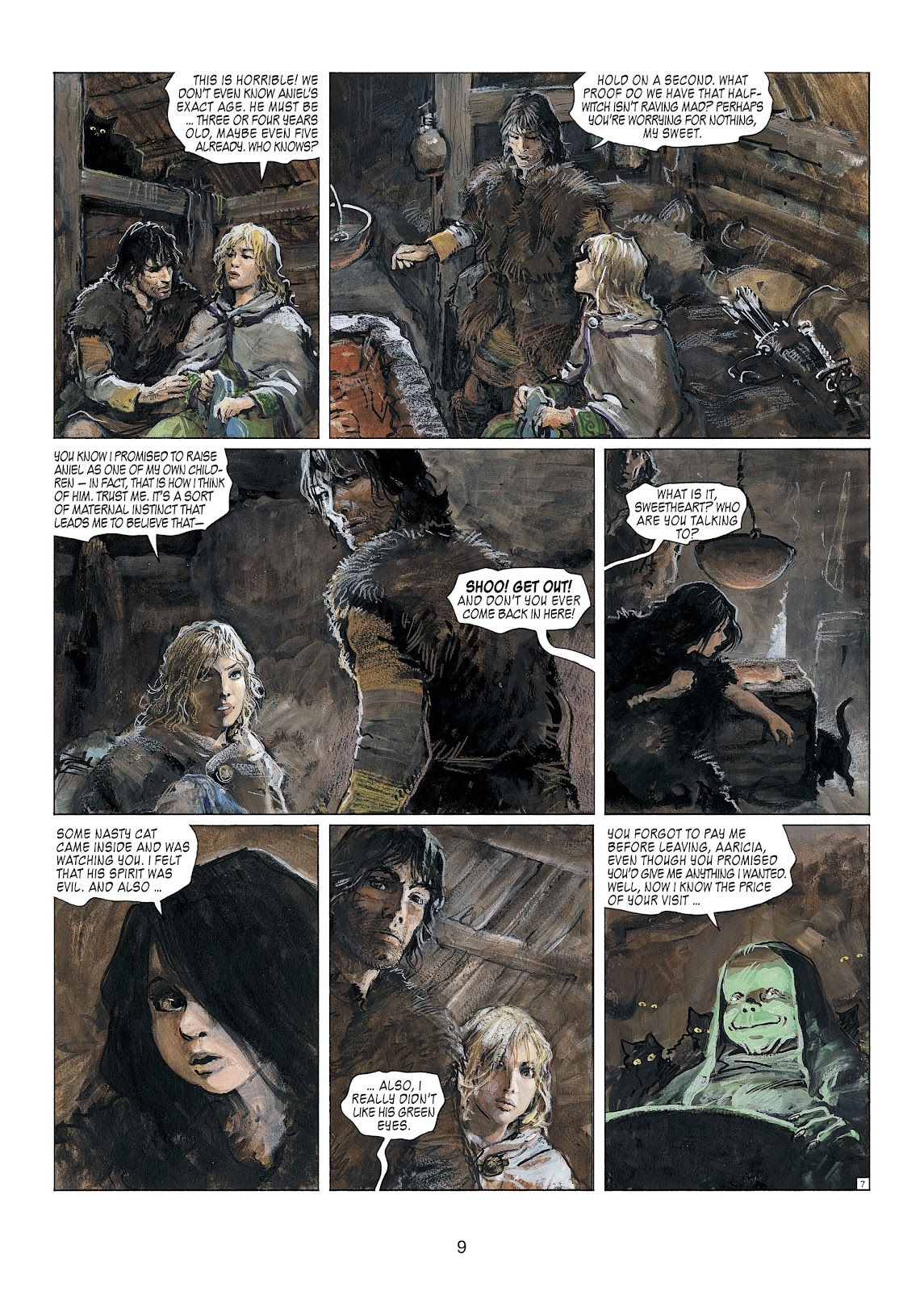 Read online Thorgal comic -  Issue #23 - 11