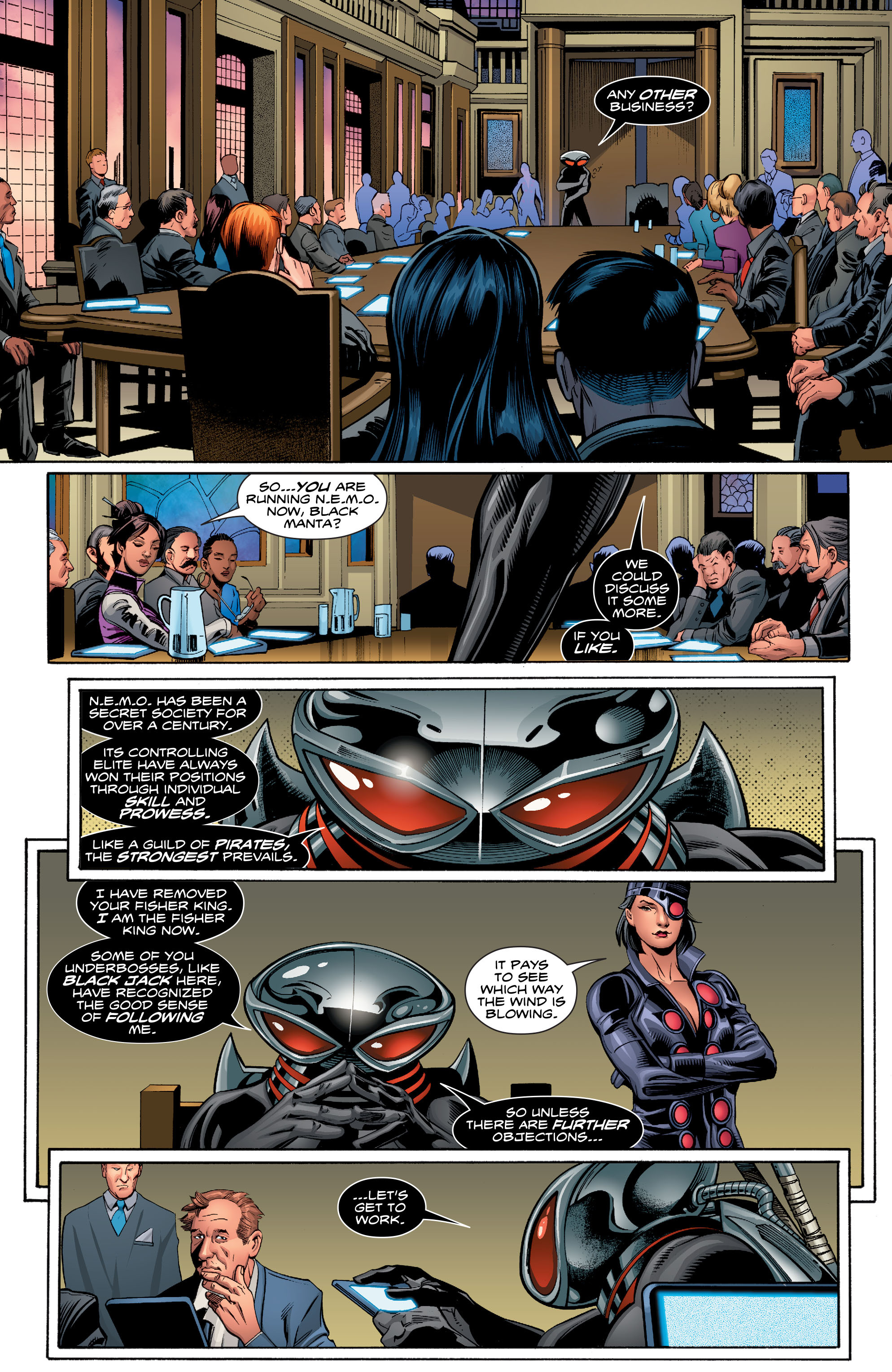 Read online Aquaman (2016) comic -  Issue #7 - 12