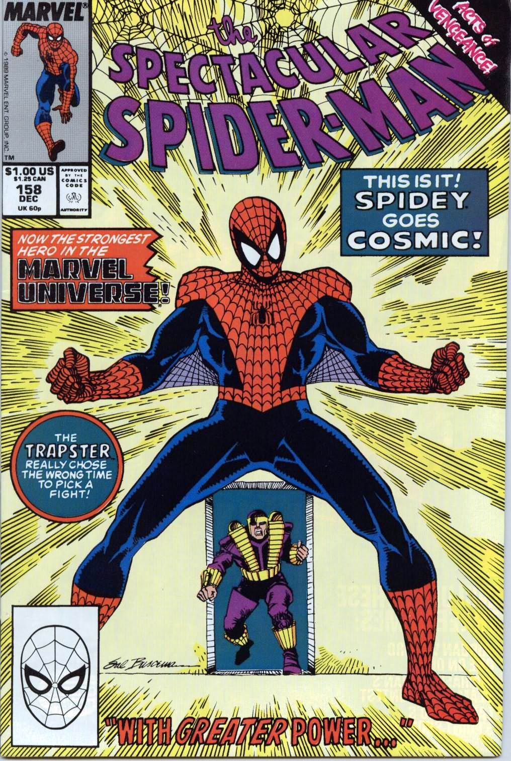 The Spectacular Spider-Man (1976) 158 Page 1
