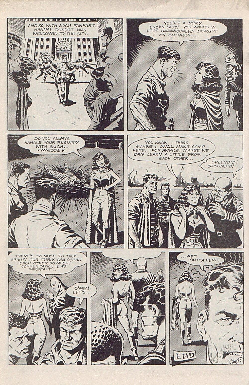 Read online Xenozoic Tales comic -  Issue #1 - 15