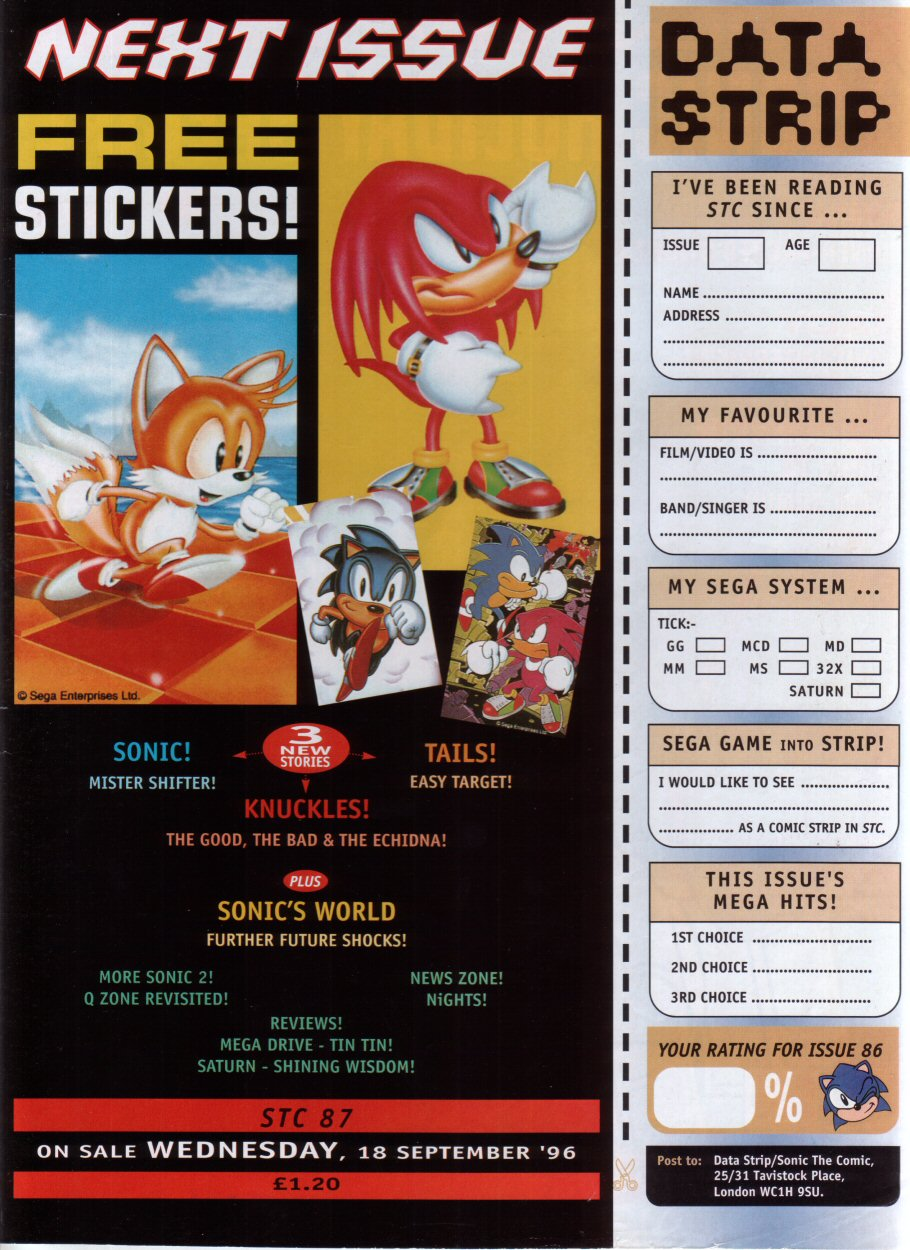 Read online Sonic the Comic comic -  Issue #86 - 30