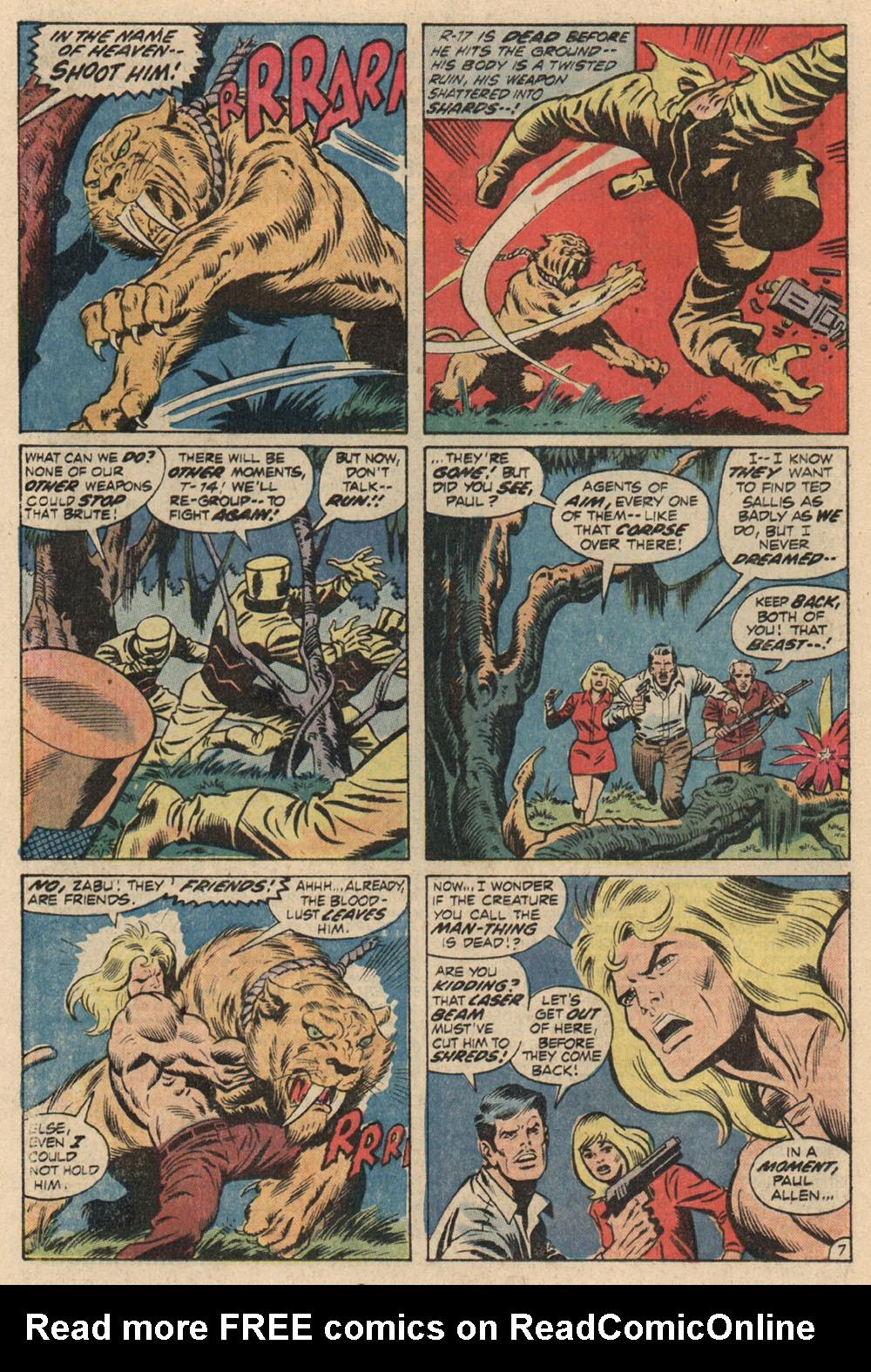 Read online Astonishing Tales (1970) comic -  Issue #13 - 8
