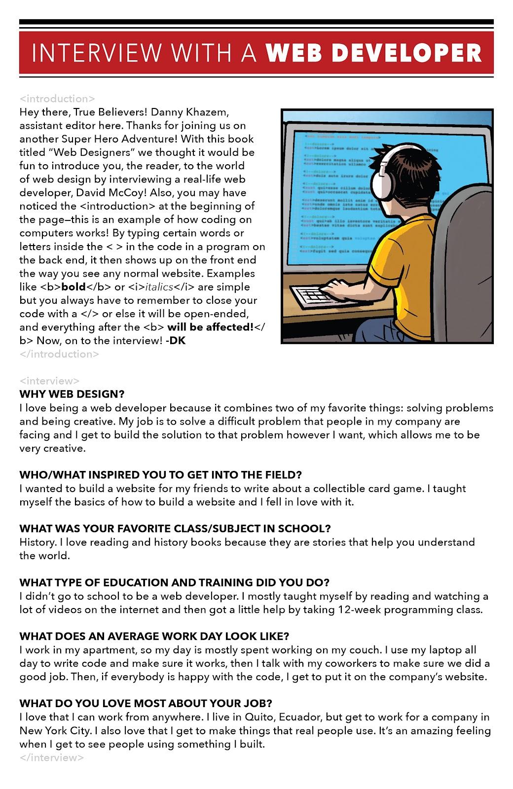 Read online Marvel Super Hero Adventures: Spider-Man – Web Designers comic -  Issue # Full - 23
