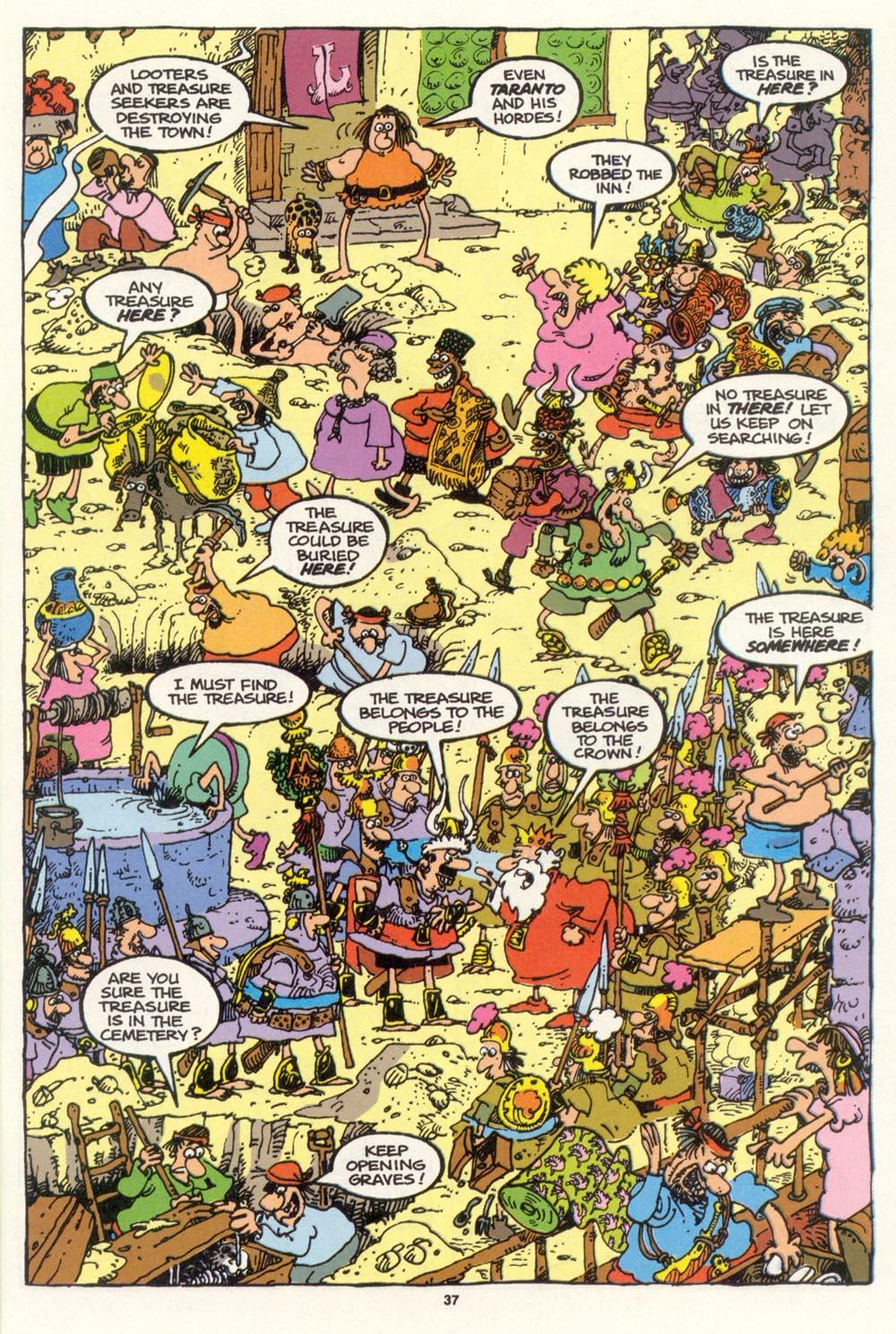 Read online Sergio Aragonés Groo the Wanderer comic -  Issue #100 - 38