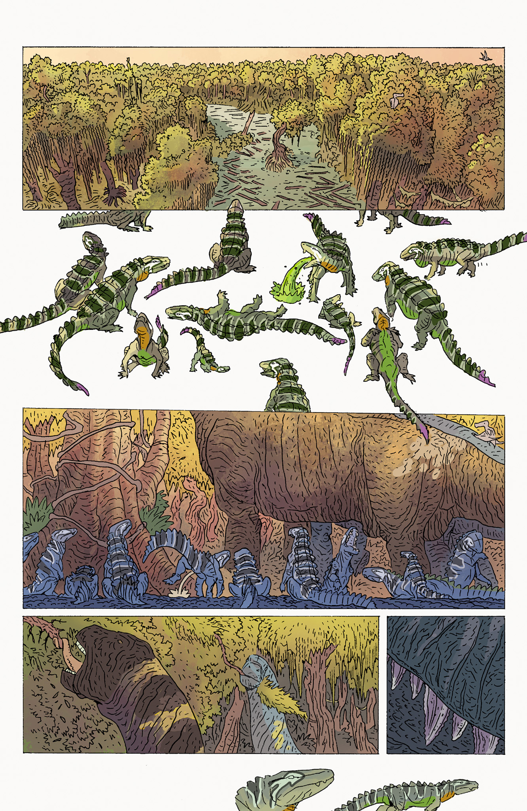 Read online Age of Reptiles: Ancient Egyptians comic -  Issue #2 - 3