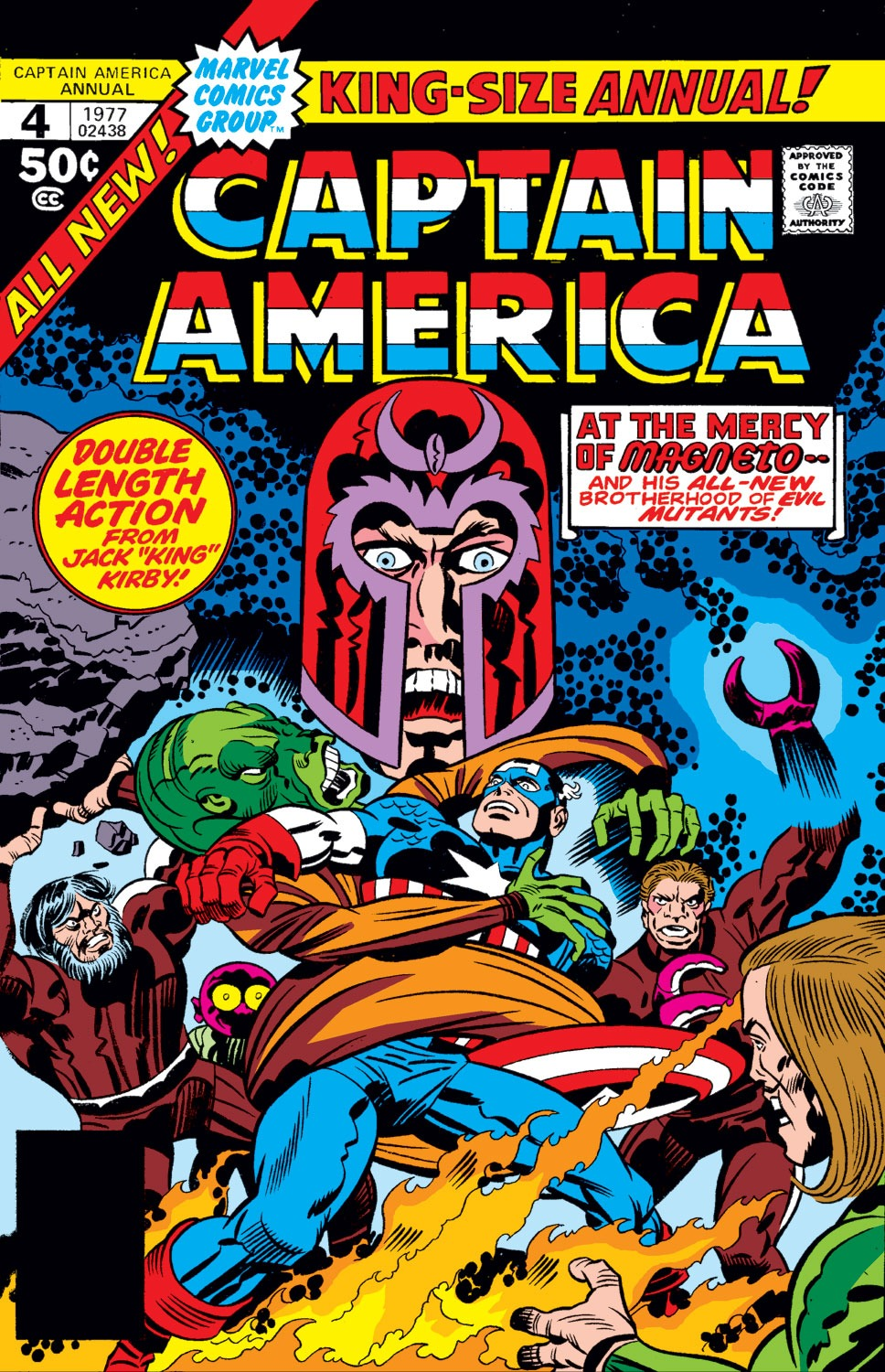 Read online Captain America (1968) comic -  Issue # _Annual 4 - 1