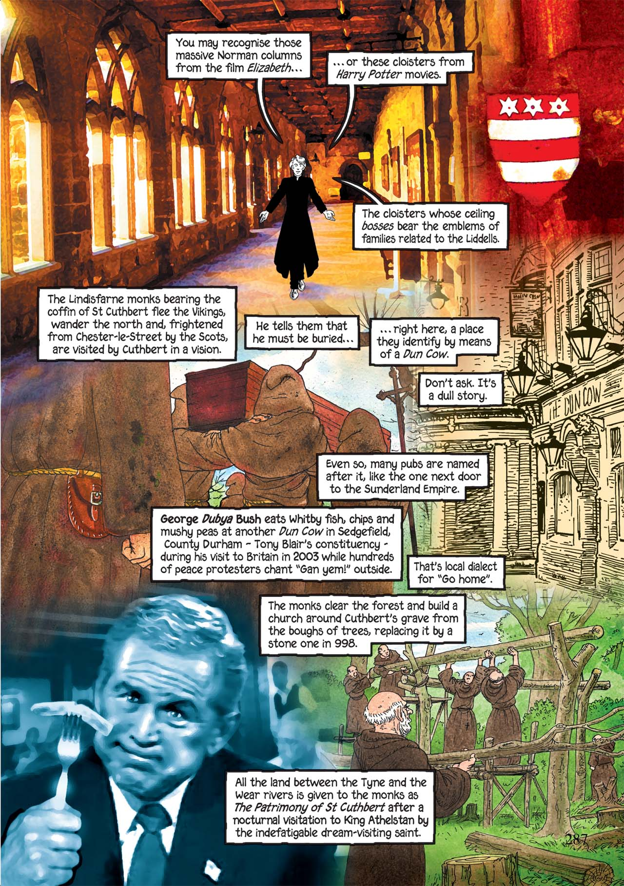Read online Alice in Sunderland comic -  Issue # Full - 291