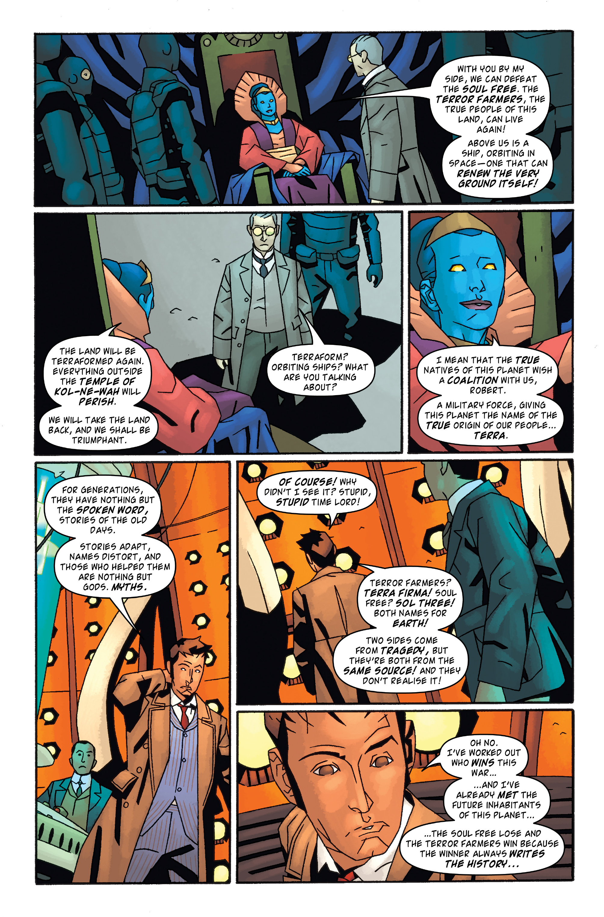Read online Doctor Who: The Tenth Doctor Archives comic -  Issue #32 - 23