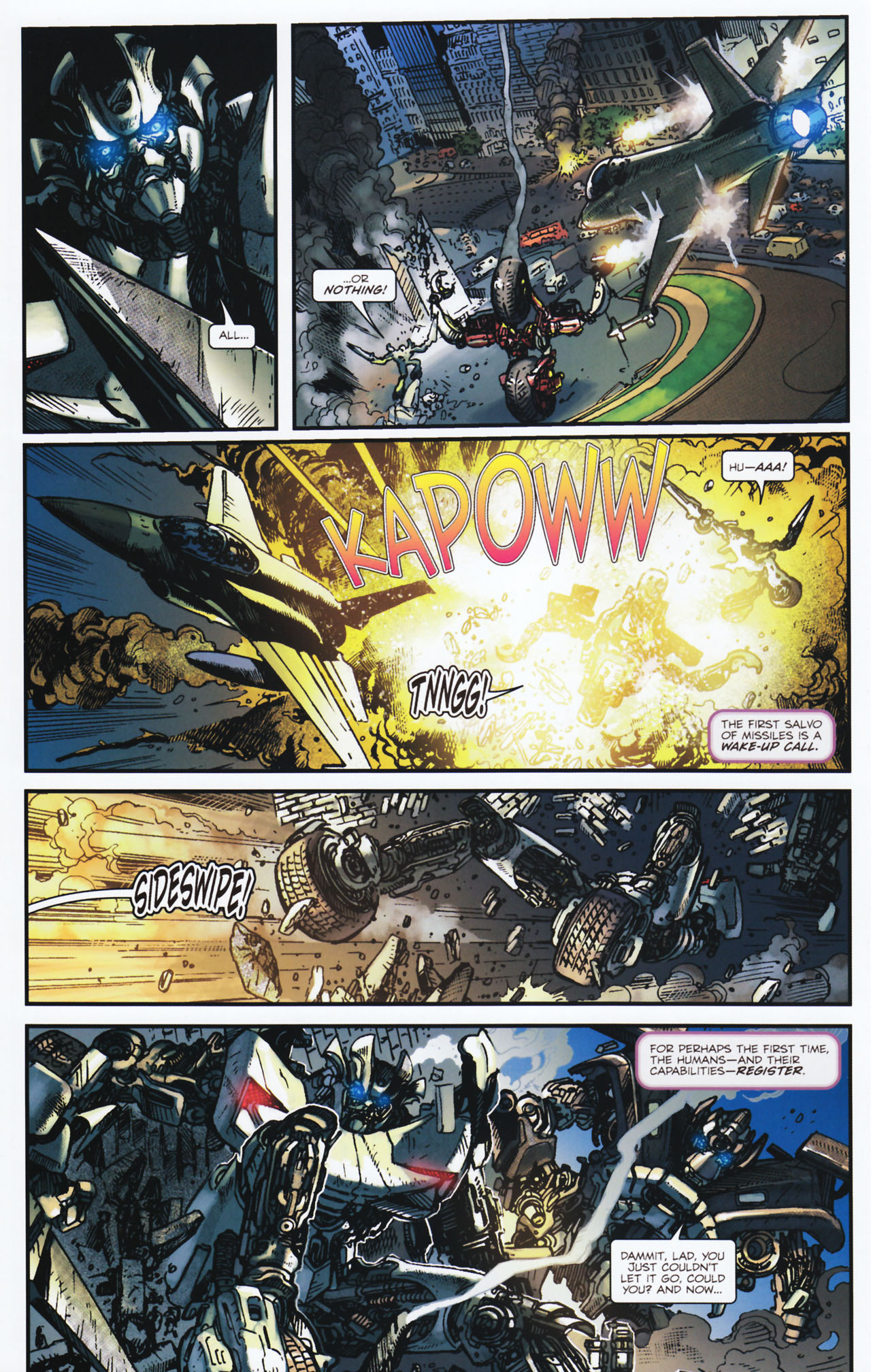 Read online Transformers: Tales of The Fallen comic -  Issue #2 - 21