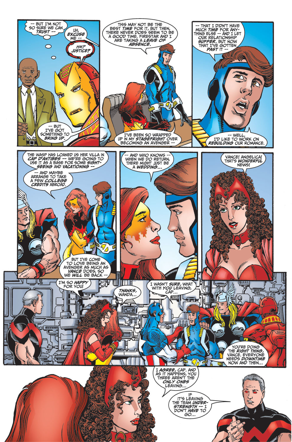 Read online Avengers (1998) comic -  Issue #27 - 4