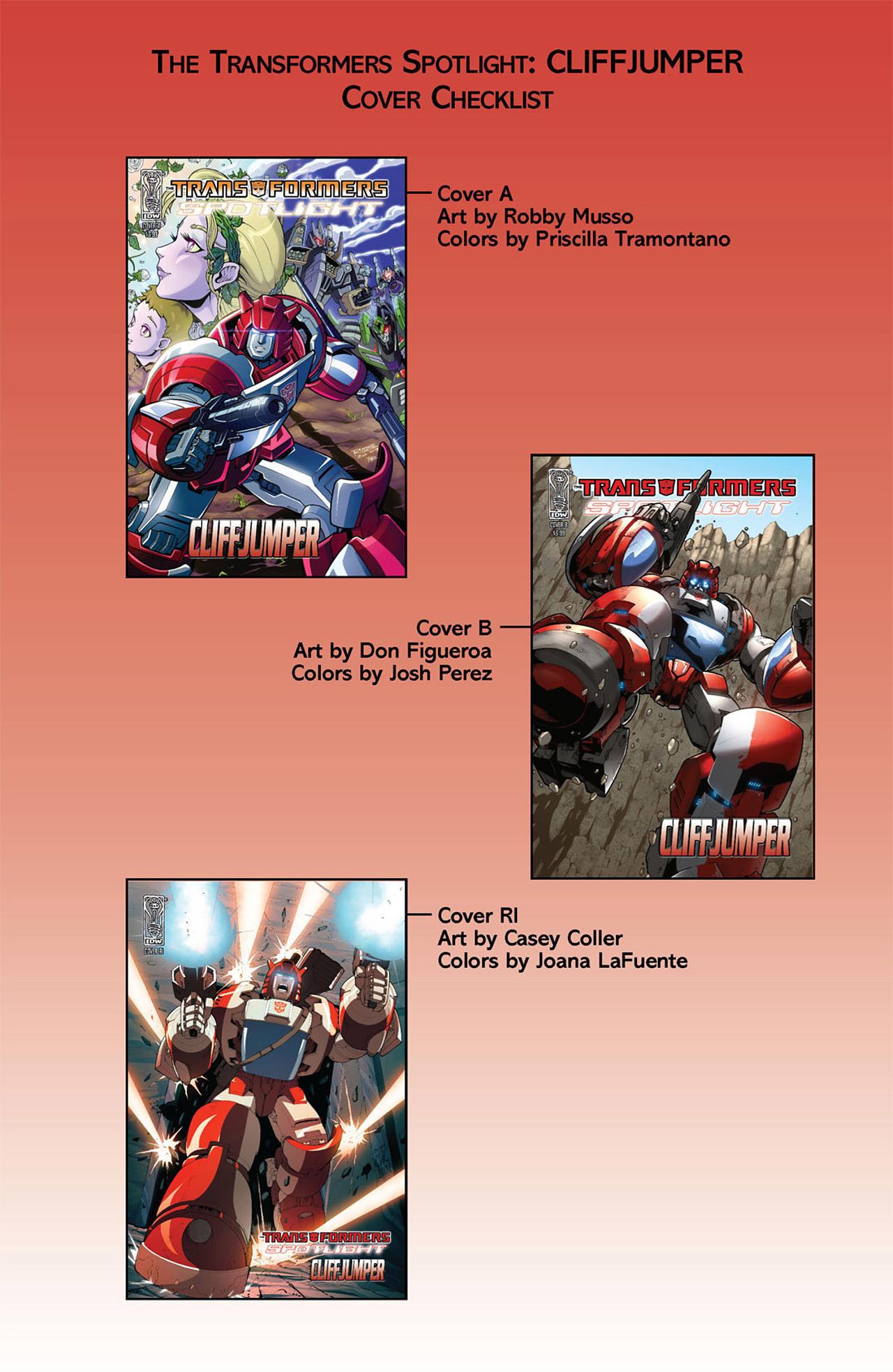 Read online Transformers Spotlight: Cliffjumper comic -  Issue # Full - 4