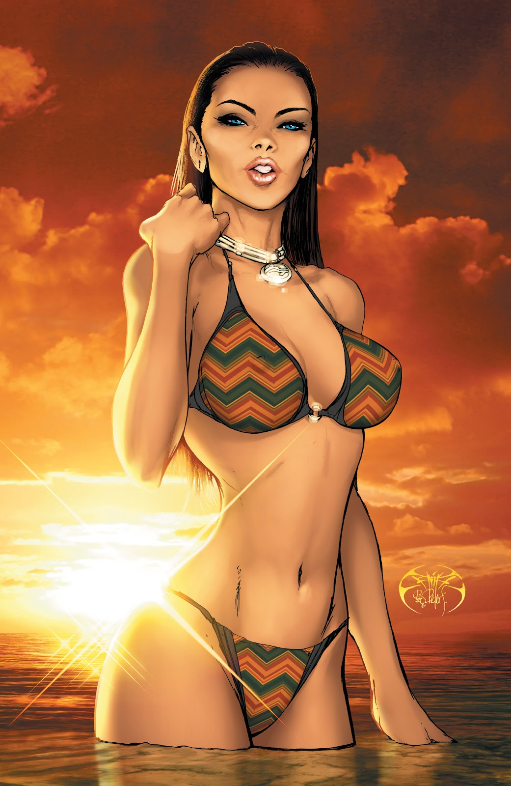 Read online Aspen Splash: Swimsuit Spectacular comic -  Issue # Issue 2009 - 13