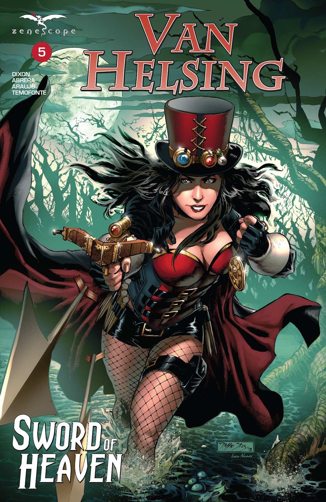 Read online Van Helsing: Sword of Heaven comic -  Issue #5 - 1