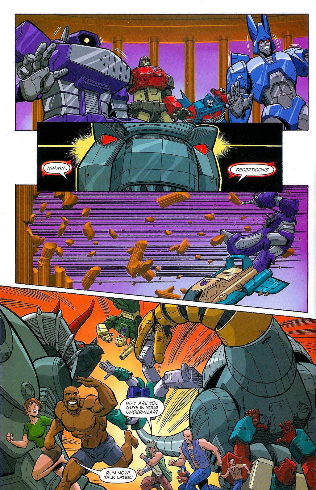 G.I. Joe vs. The Transformers II Issue #4 #5 - English 14