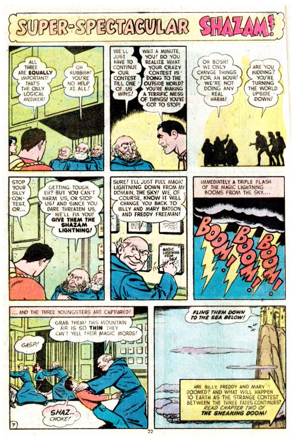 Read online Shazam! (1973) comic -  Issue #16 - 22