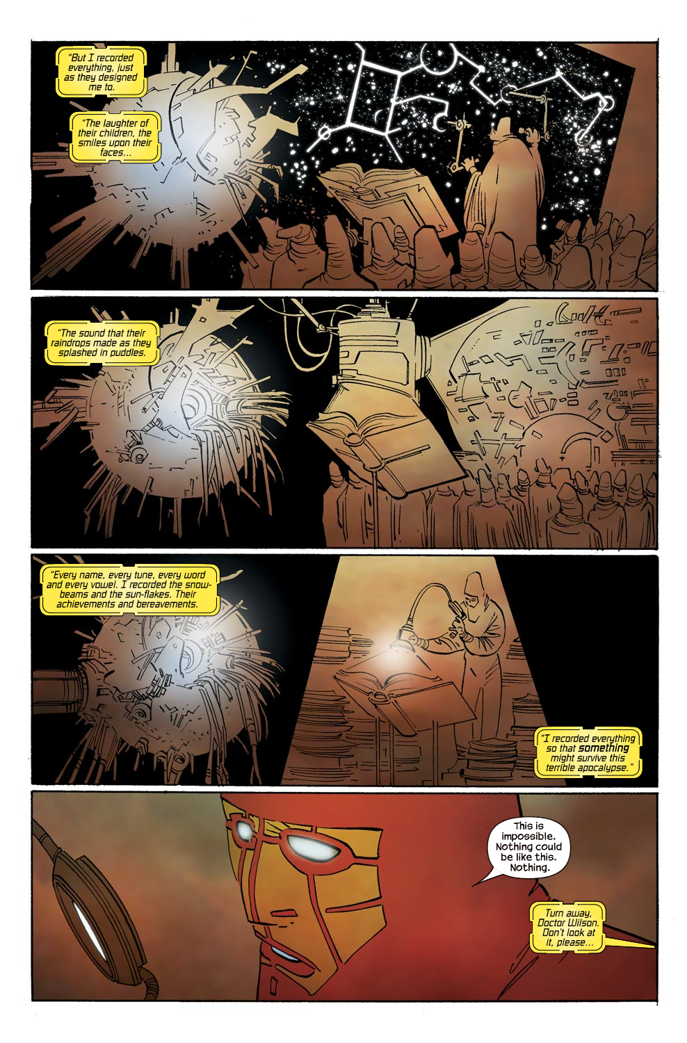 Read online Ultimate Vision comic -  Issue #0 - 9