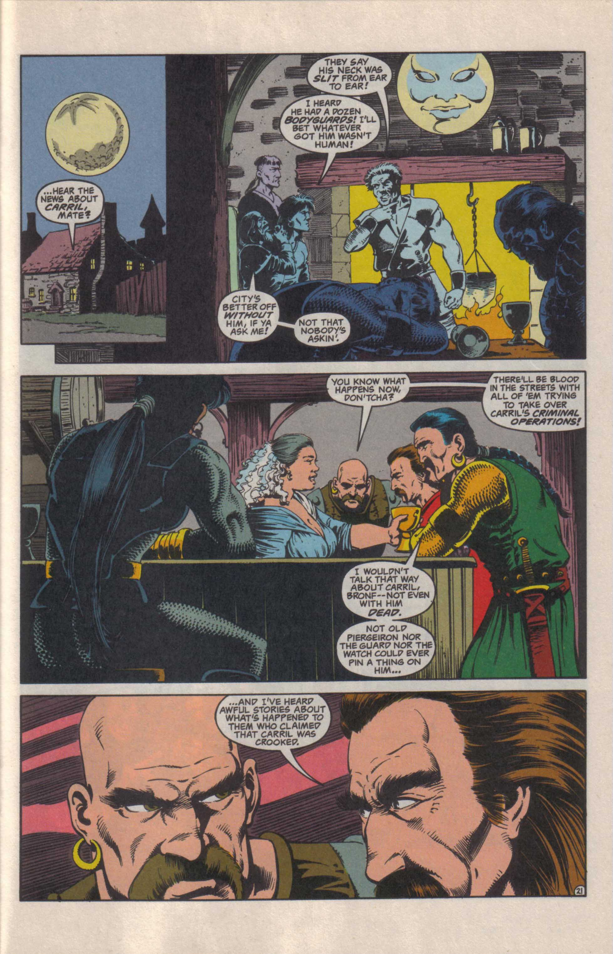 Read online Advanced Dungeons & Dragons comic -  Issue #27 - 22