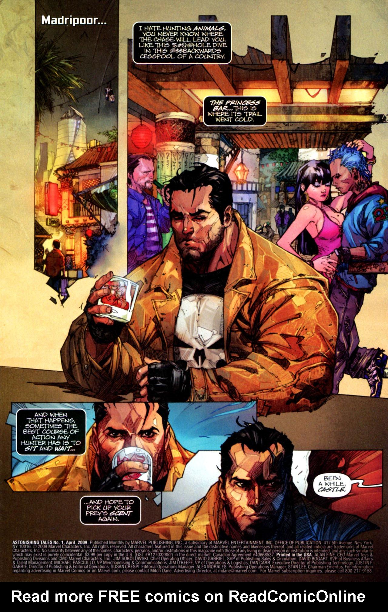 Read online Astonishing Tales (2009) comic -  Issue #1 - 3