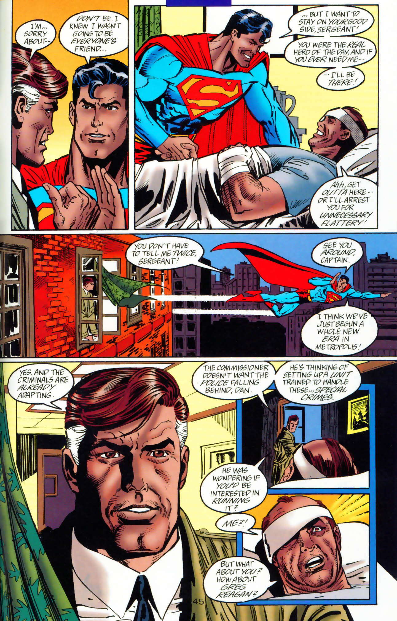 Read online Adventures of Superman (1987) comic -  Issue #Adventures of Superman (1987) _Annual 7 - 46