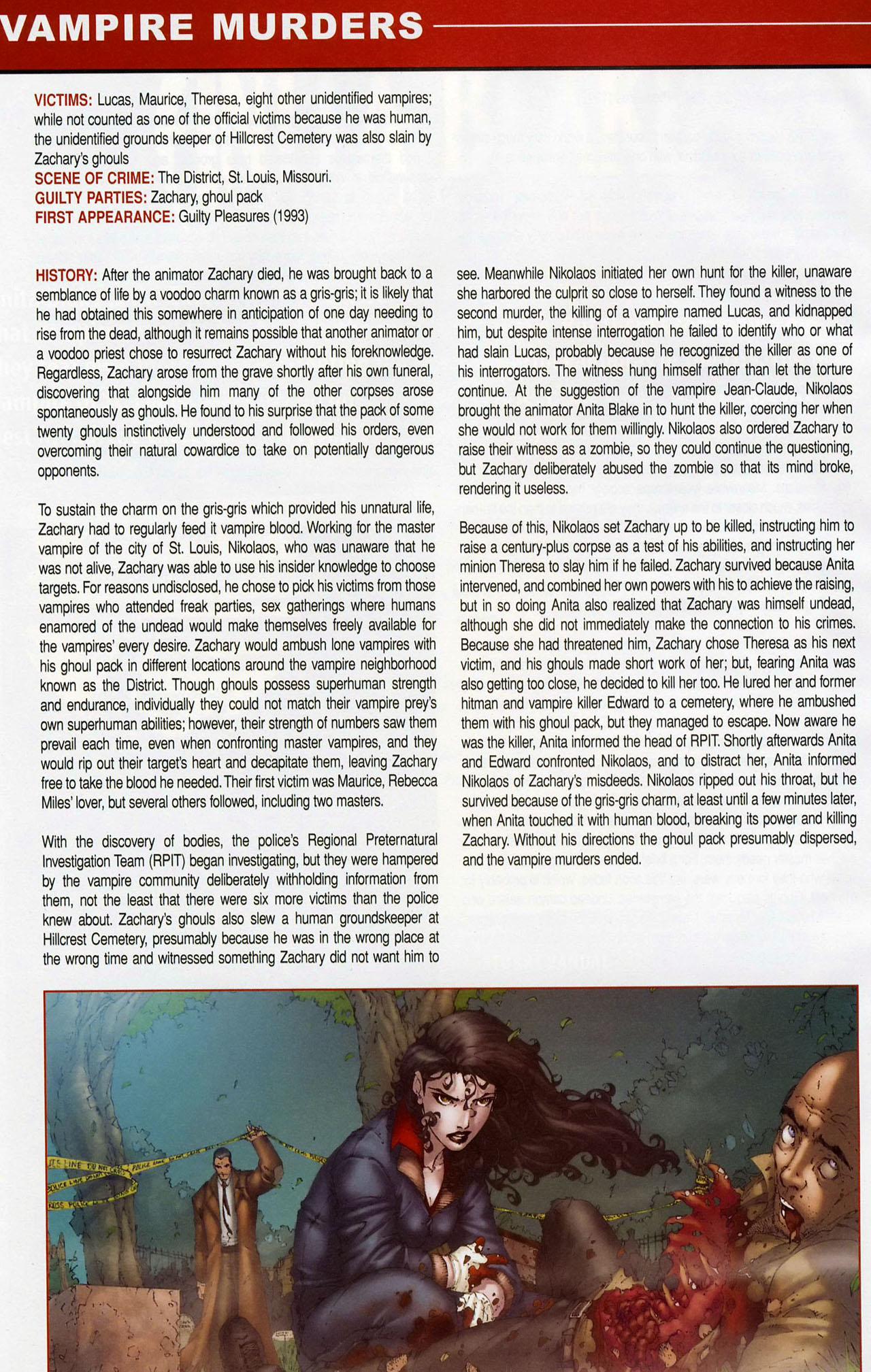 Read online Anita Blake, Vampire Hunter: Guilty Pleasures Handbook comic -  Issue #Anita Blake, Vampire Hunter: Guilty Pleasures Handbook Full - 4