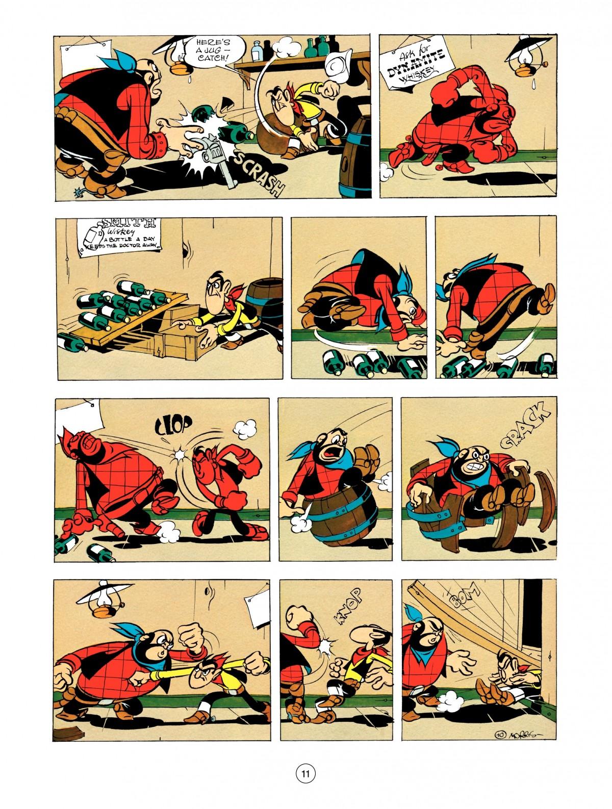 Read online A Lucky Luke Adventure comic -  Issue #48 - 11