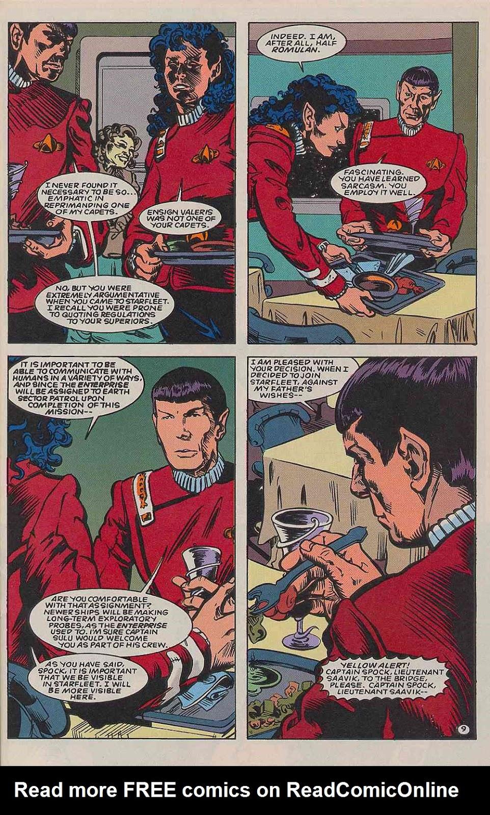 Read online Star Trek (1989) comic -  Issue # _Special 2 - 41