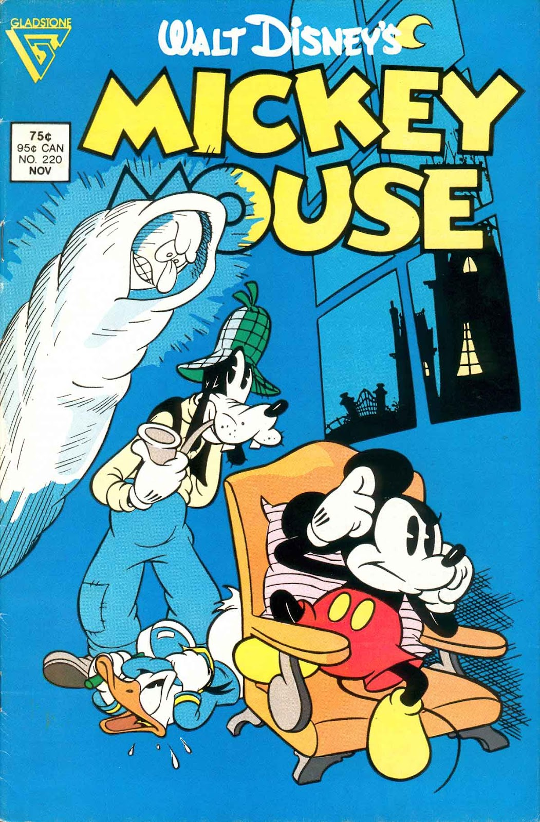 Walt Disney's Mickey Mouse issue 220 - Page 1