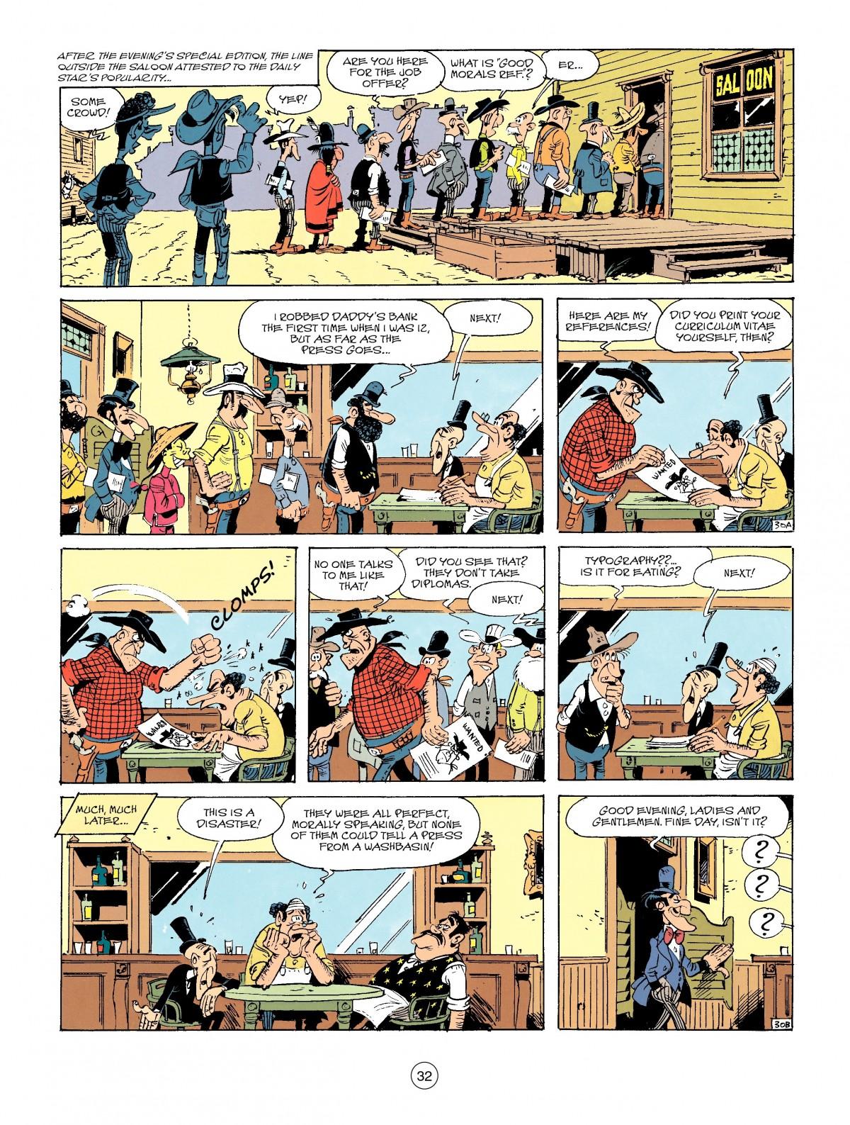 Read online A Lucky Luke Adventure comic -  Issue #41 - 32