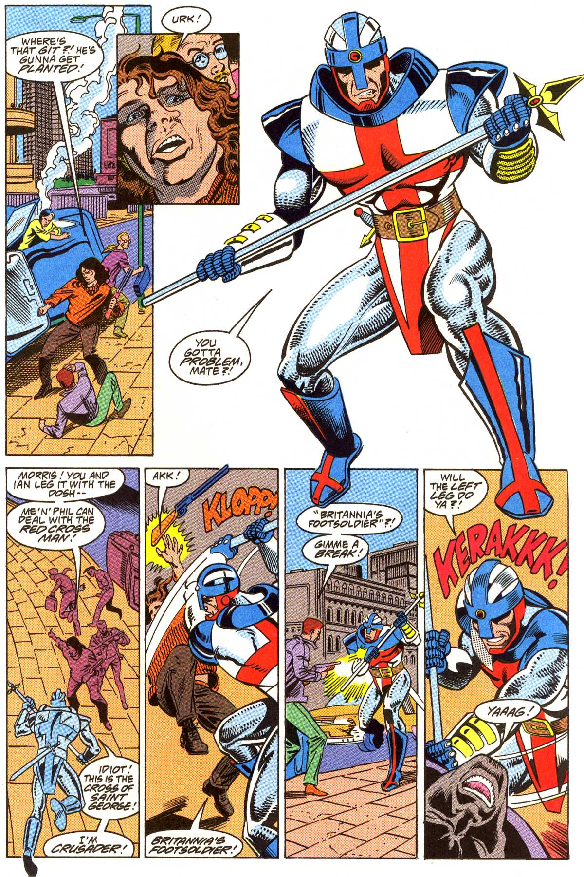 Read online Peter Cannon--Thunderbolt (1992) comic -  Issue #4 - 14