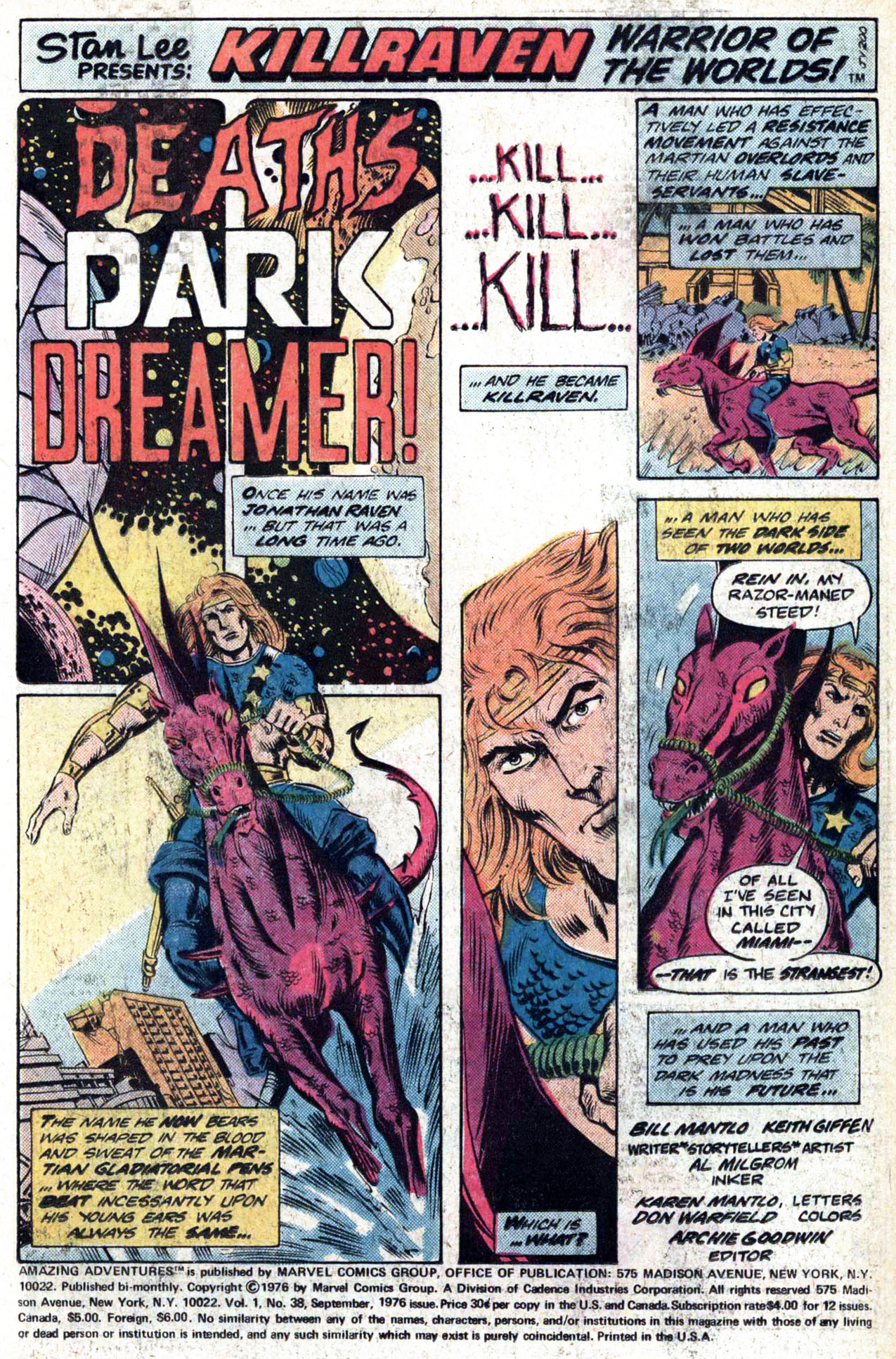 Read online Amazing Adventures (1970) comic -  Issue #38 - 3