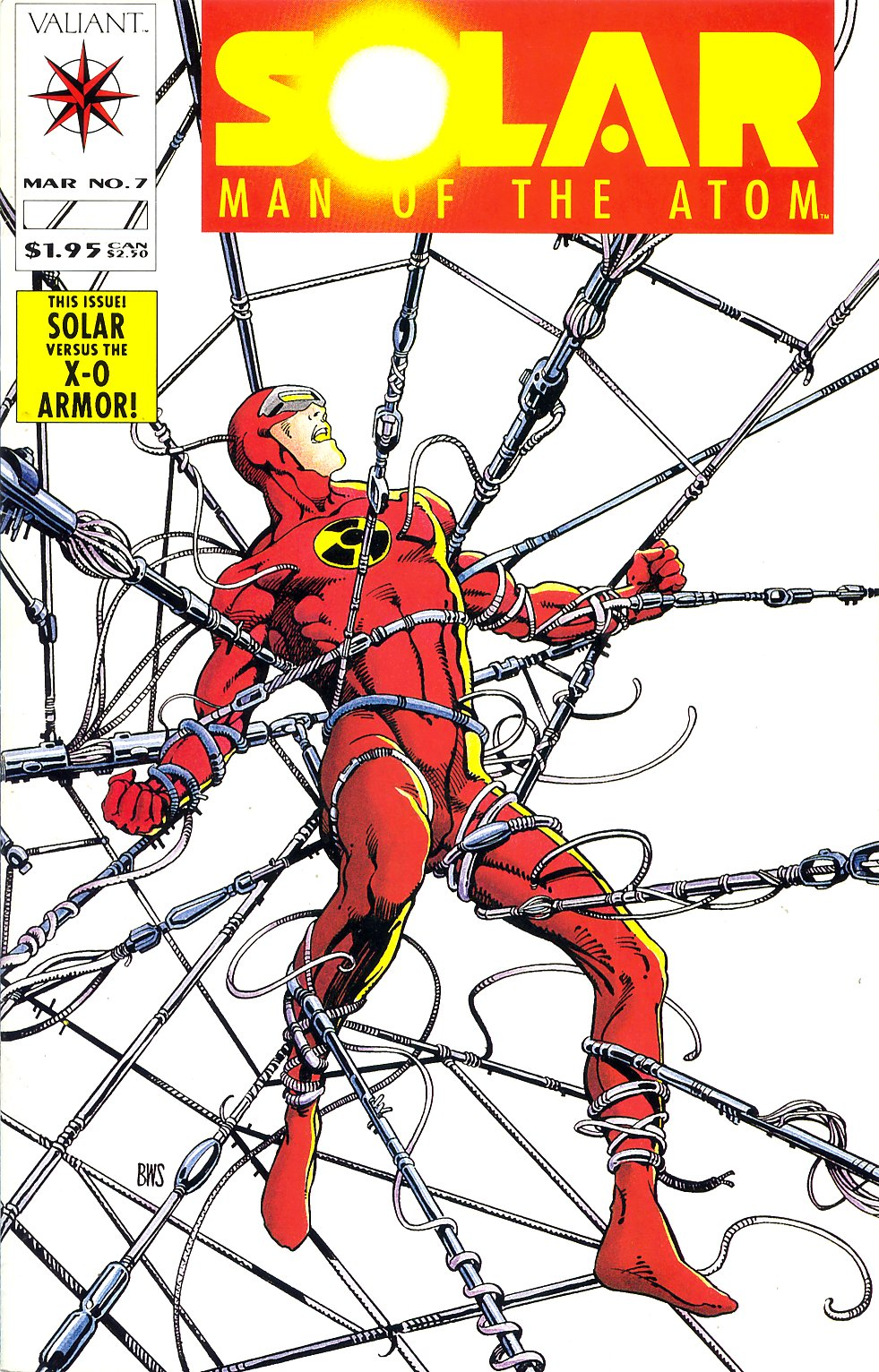 Read online Solar, Man of the Atom comic -  Issue #7 - 1