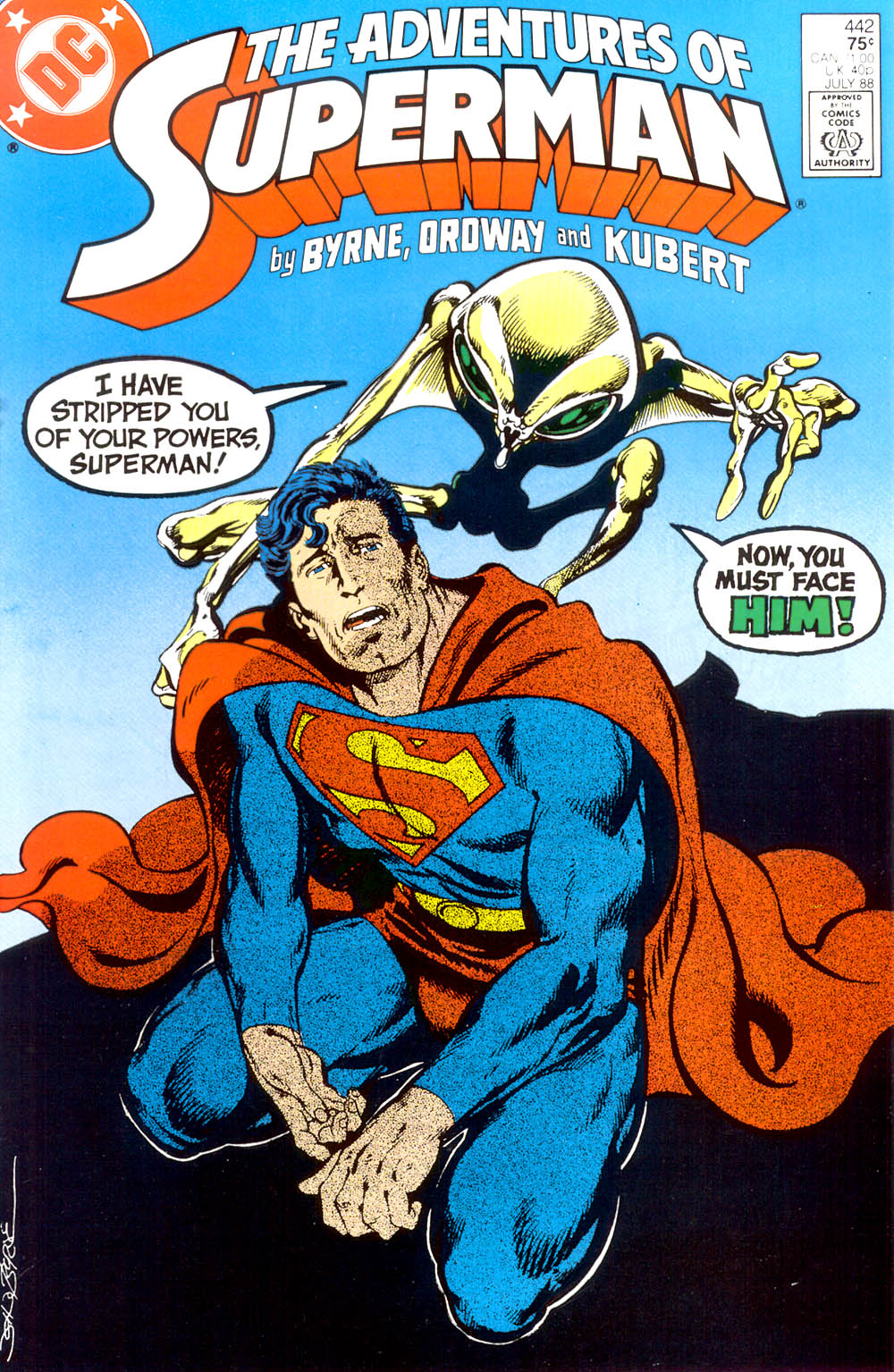 Read online Adventures of Superman (1987) comic -  Issue #442 - 1