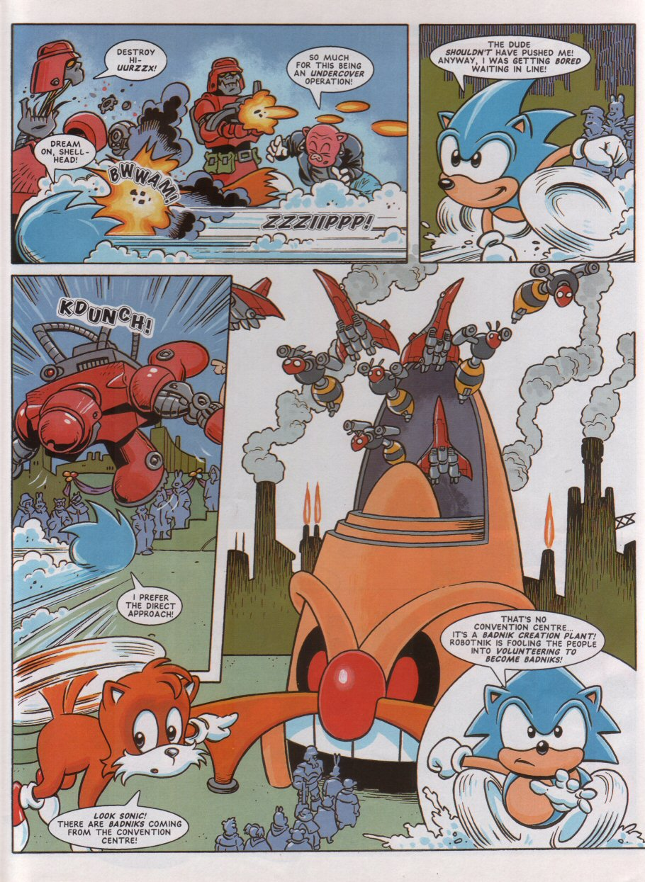 Read online Sonic the Comic comic -  Issue #46 - 6