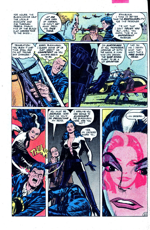 Read online Blackhawk (1957) comic -  Issue #252 - 30