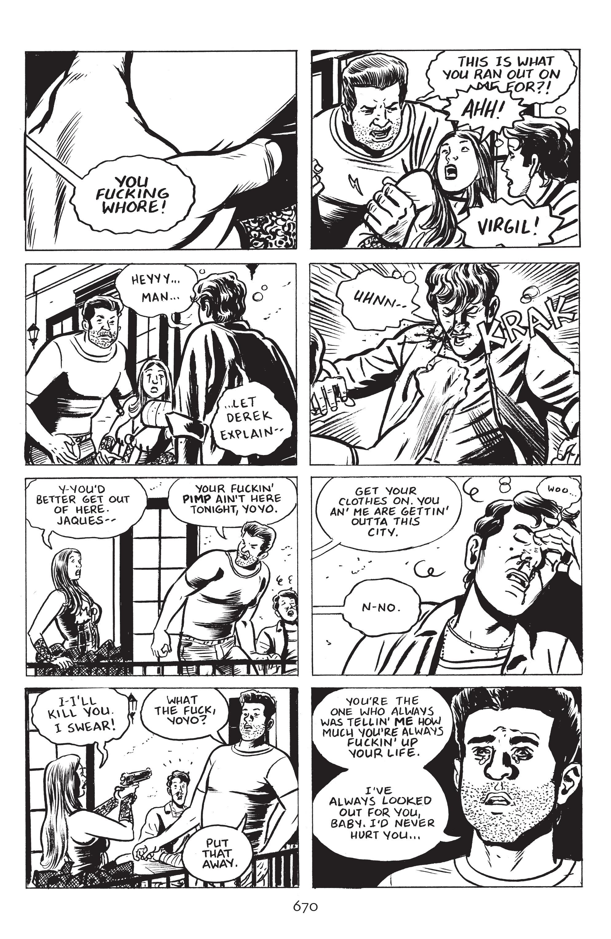 Read online Stray Bullets: Sunshine & Roses comic -  Issue #24 - 25