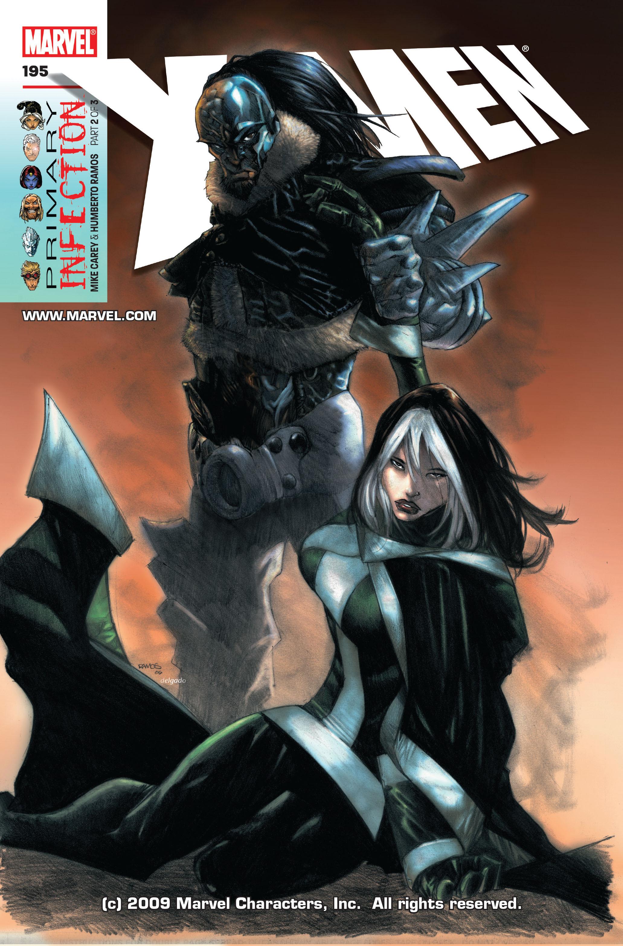 X-Men (1991) 195 Page 0