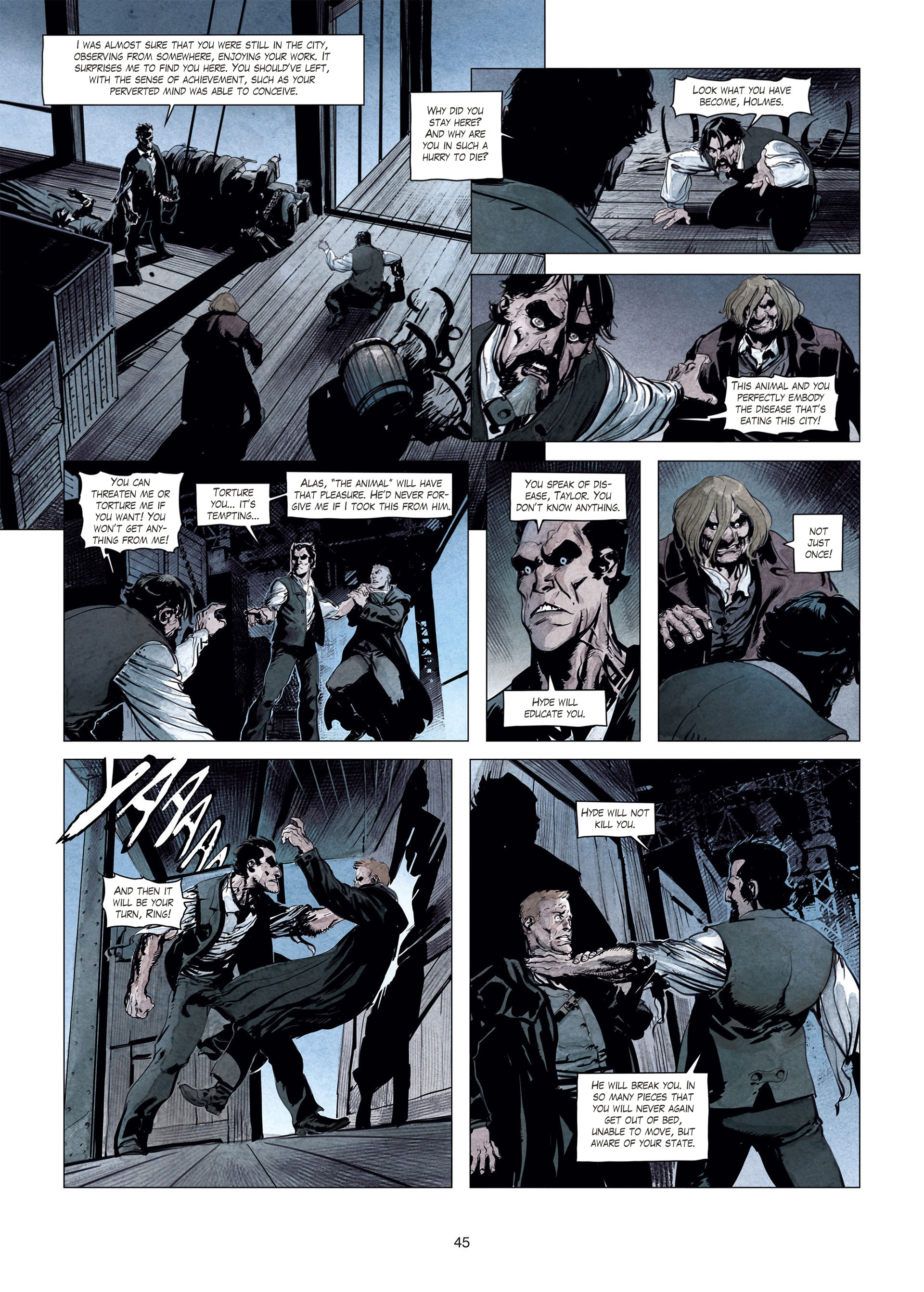 Read online Sherlock Holmes Society Tome 4 : Contamination comic -  Issue # Full - 45