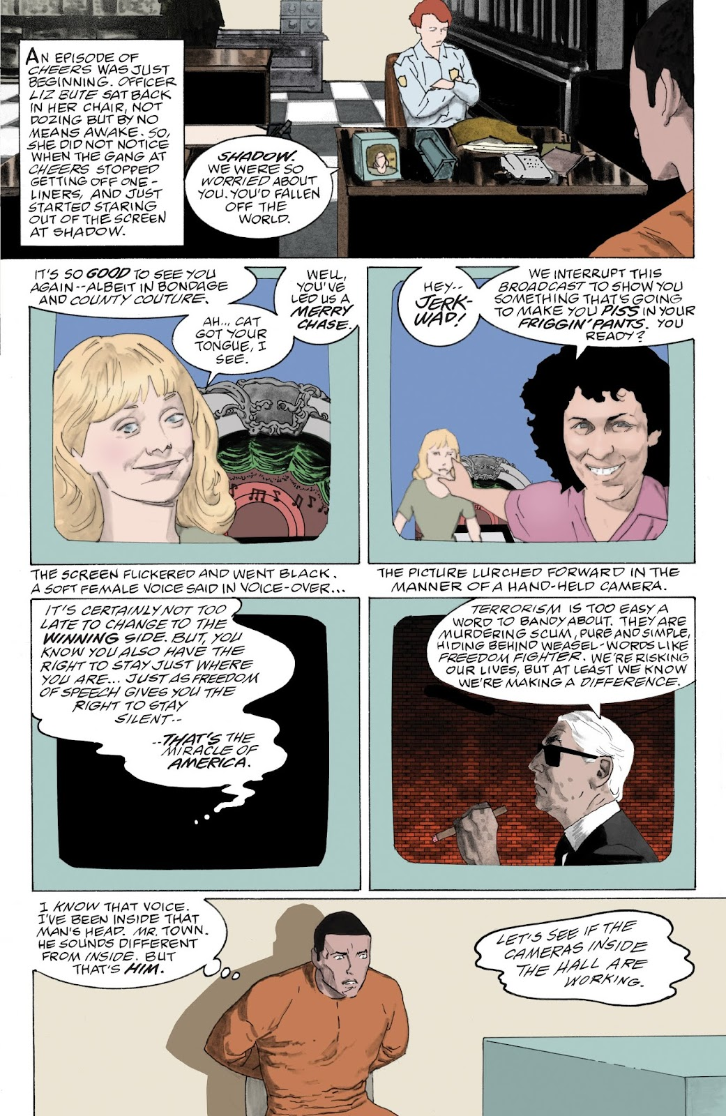 American Gods: My Ainsel issue 9 - Page 9