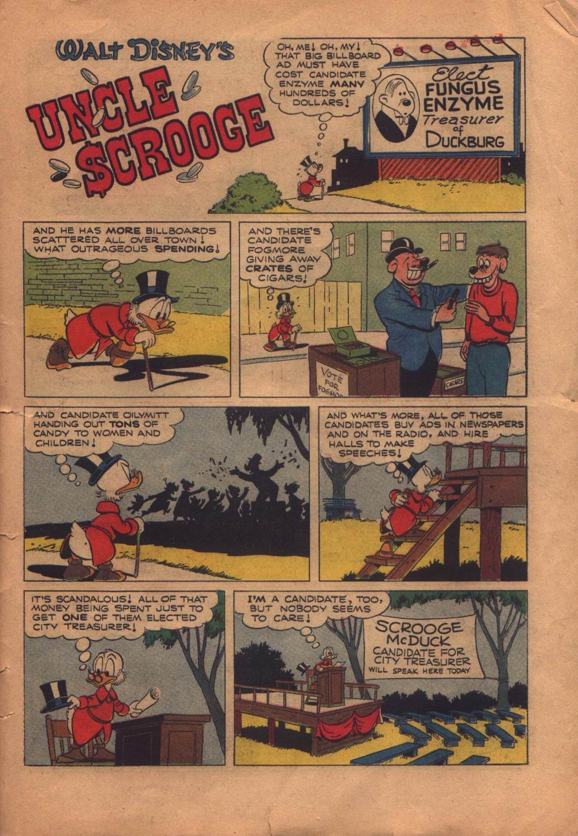 Read online Uncle Scrooge (1953) comic -  Issue #8 - 31