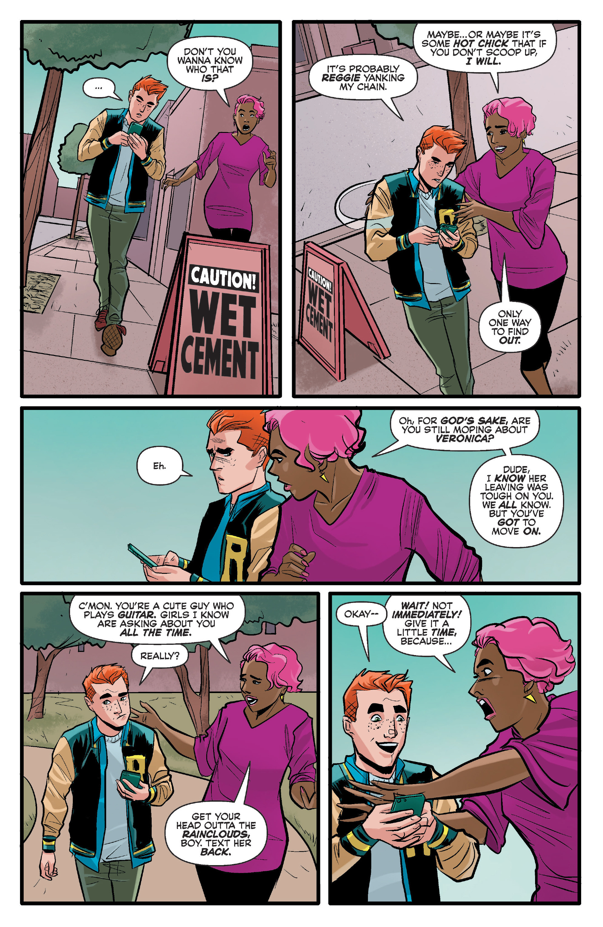 Read online Archie (2015) comic -  Issue #17 - 5