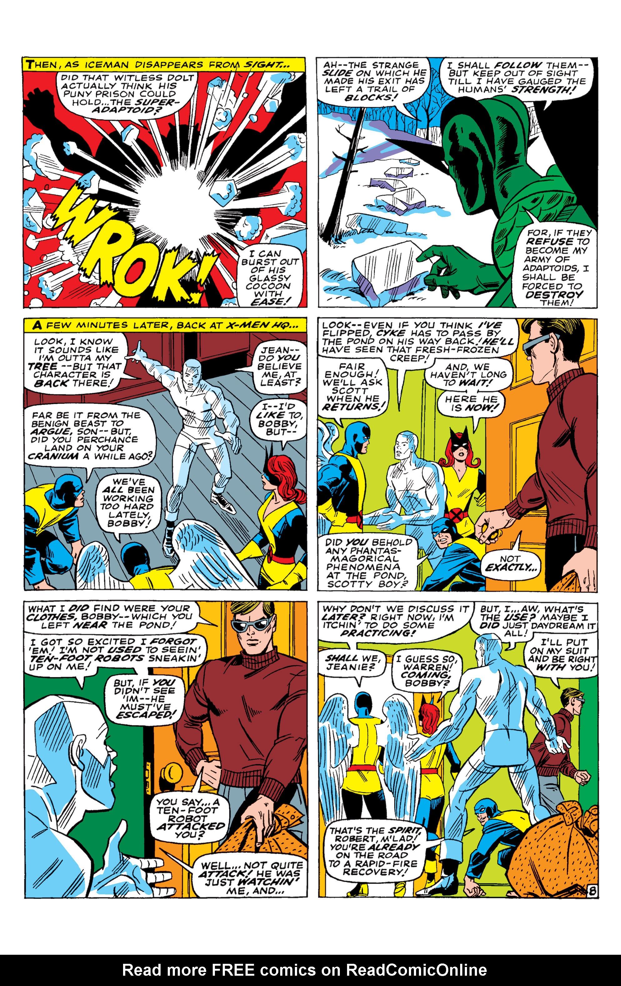 Read online Uncanny X-Men (1963) comic -  Issue #29 - 9