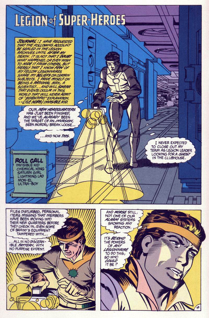 Legion of Super-Heroes (1984) 59 Page 4