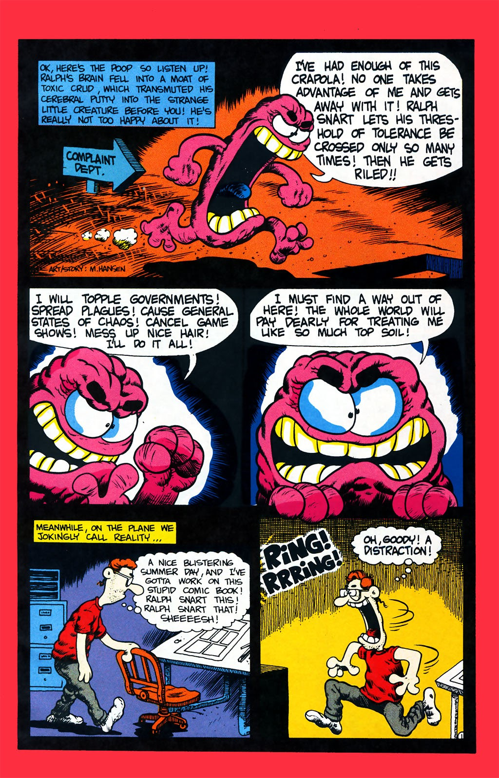 Ralph Snart Adventures (1988) issue 7 - Page 2